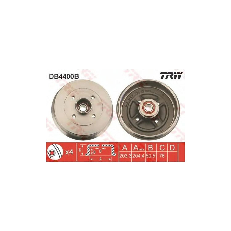 TRW DB4400B Bremstrommel