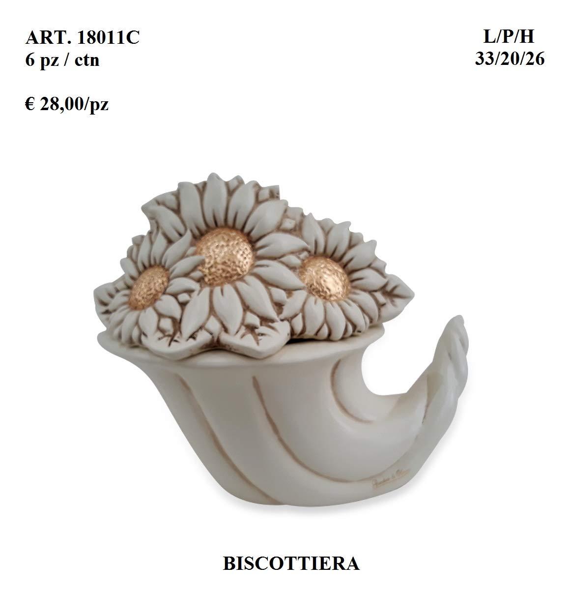 Bianco Giardini di Marzo BISCOTTIERA Ceramica 1