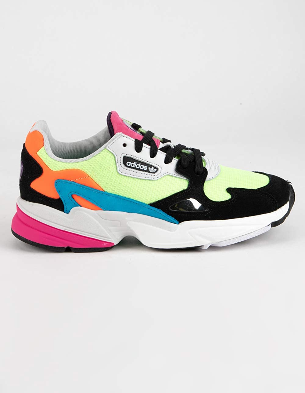 authorized site buy good high quality materials Amazon.com   adidas Falcon Hi-Res Yellow Shoes   Fashion ...