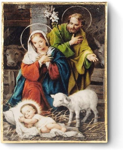 Dickens 2020 Christmas Tile Amazon.: Sid Dickens Memory Block Nativity T455 Retired