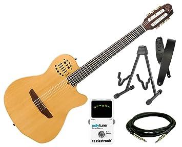 Godin guitarras ACS Slim sintetizador access - Natural SG + PolyTune + correa + soporte + cable: Amazon.es: Instrumentos musicales