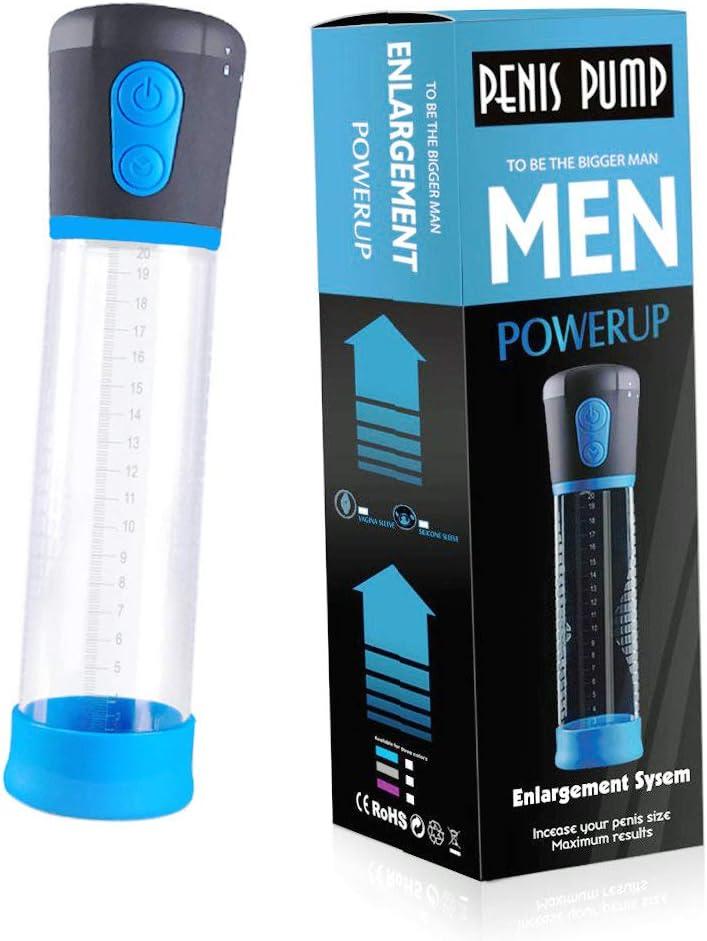 Automatic Battaries Vacuum Air Massager Pump for Men,11.4 Inch Pump