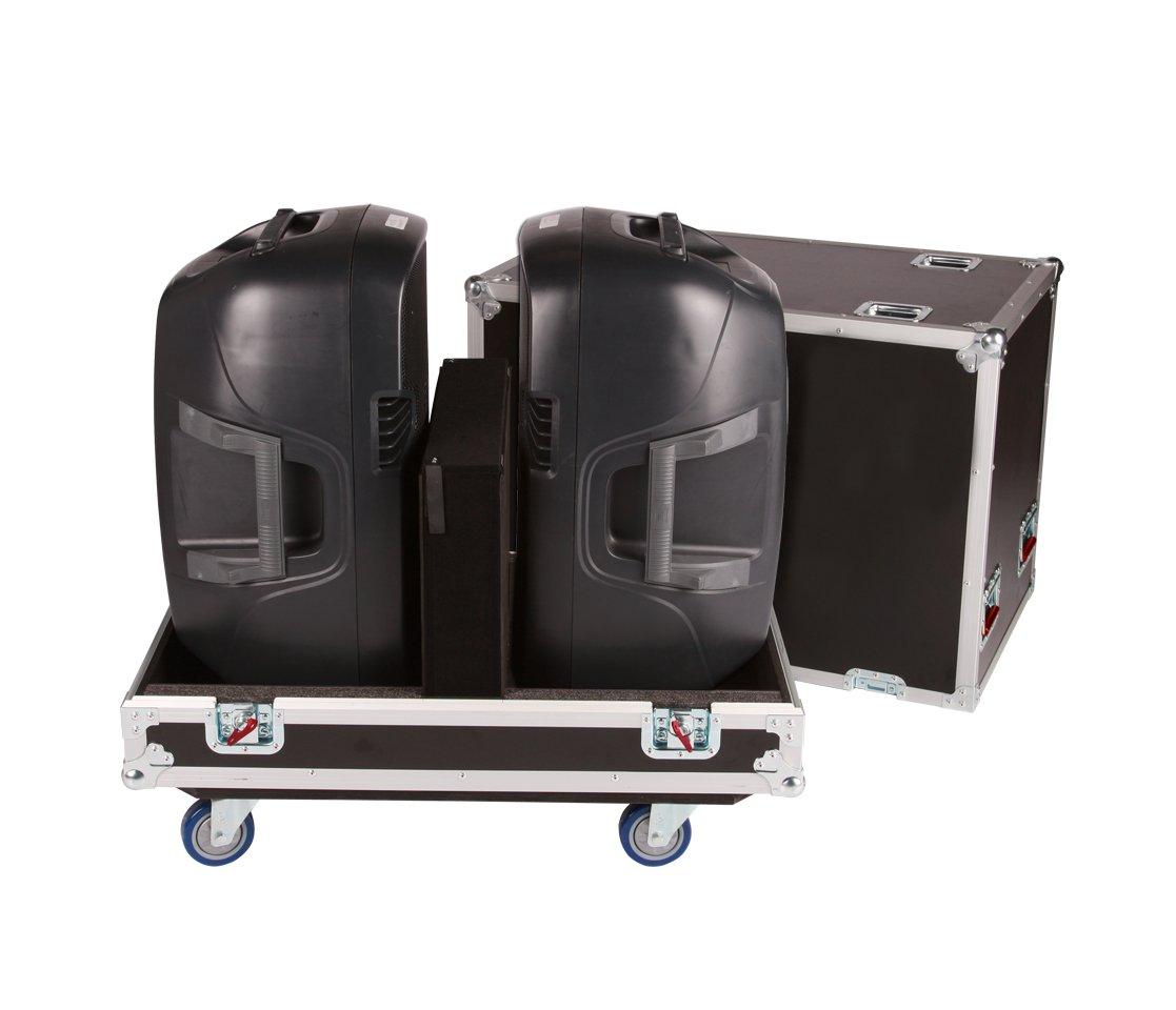 Gator Cases Tour Series Speaker Case for Two QSC K12 Speaker Cabinets G-TOUR SPKR-2K12