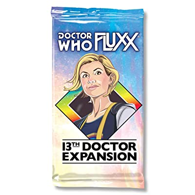 Doctor Who Fluxx 13th Doctor Expansion: Toys & Games