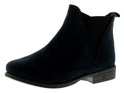 bb455cb38 Platino Gemima Womens Ladies Ankle Boots Navy - Navy - UK Size 4 ...