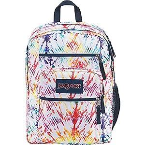 JanSport Unisex Big Student Rainbow Tie-Dye Backpack