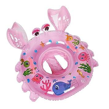 Sucastle Flotador Inflable para Piscina con Forma de Asiento de Cangrejo bebé,para Adultos niños Playa Fiestas de Piscina Juegos Decoraciones de salón ...