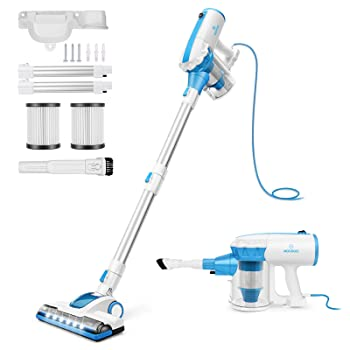 MOOSOO D601 Corded Stick Vacuum Cleaner