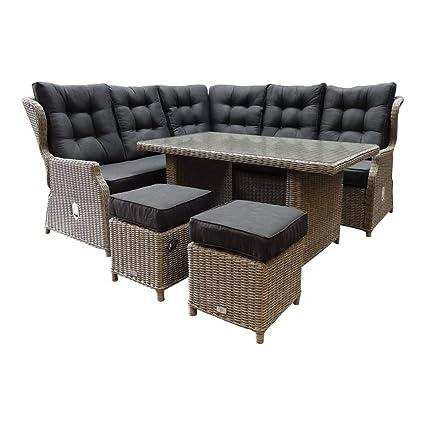 Amazon.de: AVH-Outdoor | 6-teiliges Ibiza XL Corner Lounge ...