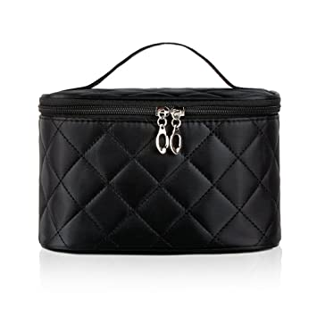 61898829c3e1 Amazon.com : DW Makeup Bags, Large Travel Cosmetic Bags Brush Pouch ...