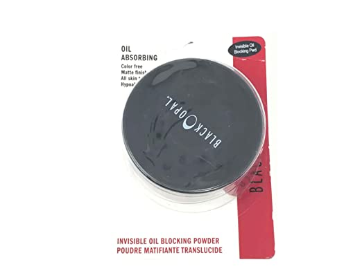 Amazon.com : BLACK OPAL OIL ABSORBING INVISIBLE OIL BLOCKING LOOSE POWDER : Beauty