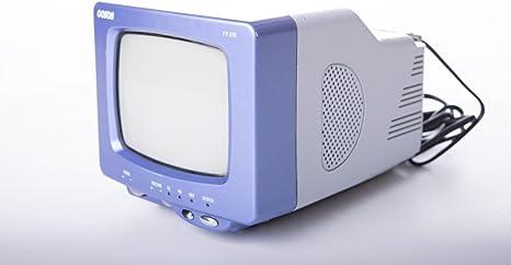 Coson Televisor portátil TV 550 Fabricante años 90 Colores Gris Azul de plástico: Amazon.es: Hogar