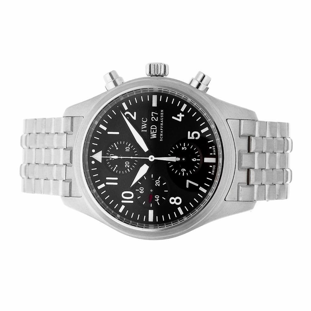 IWC Pilot automatic-self-wind mens Watch IW371704 (Certified Pre-owned)