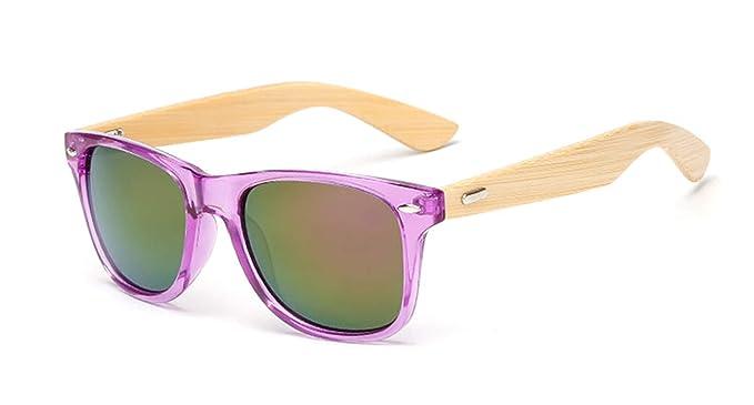 Daawqee Gafas de sol, Gafas para fiestas, 17 Color Wood ...