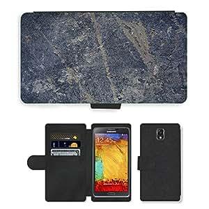 PU LEATHER case coque housse smartphone Flip bag Cover protection // M00152164 Los arañazos Wall Textura Grunge Liquen // Samsung Galaxy Note 3 III N9000 N9002 N9005