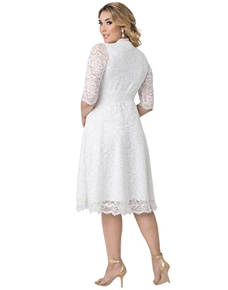 Kiyonna Womens Plus Size Wedding Belle Dress at Amazon Womens Clothing store: