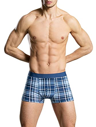 68934bc47a22 Peach & Pepper Men's 6 Pack Stretch Cotton Boxer Panties Underwear at  Amazon Men's Clothing store: