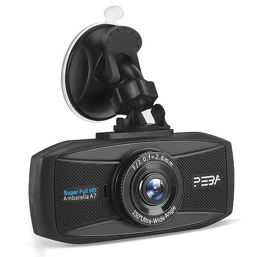 20 opinioni per Telecamera per Auto Dash Cam Full HD 1296P PEBA 2,7 LCD DVR Video Visione