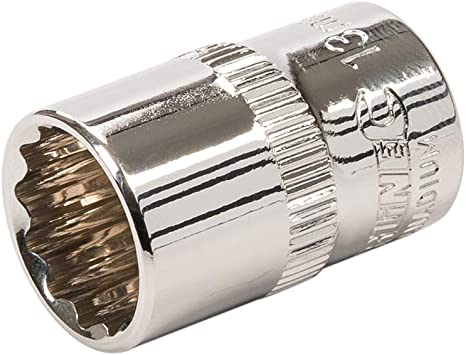 Silverline 283041 Douille /à six pans m/étrique 3//8 13 mm