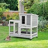 U-MAX Rabbit Hutch Pet House for Small Animals 37