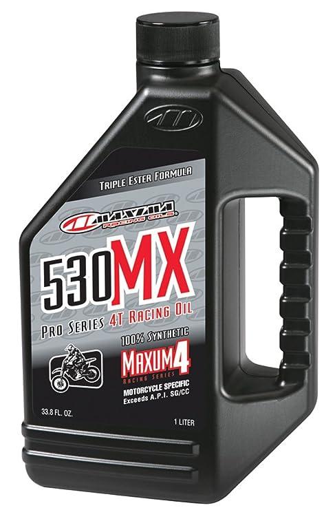 Amazon.com: MAXIMA 530 MX 5 W-30 4T sintéticas MX/Off-Road ...