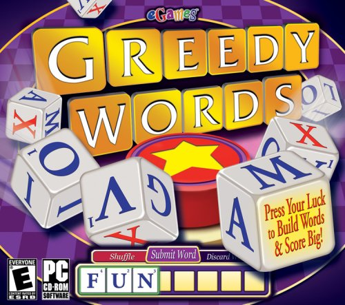 Greedy Words - PC (Boggle Computer Game)