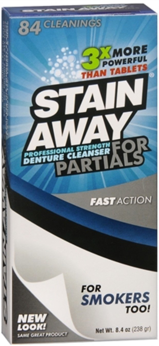 Stain Away Cleanser For Partials 8.40 oz (Pack of 10)