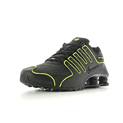 huge discount a2836 8529e Nike Shox NZ 378341046, Baskets Mode Homme - taille 45