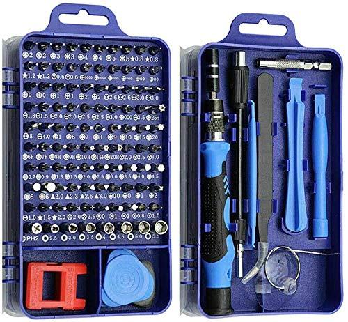 Gereedschap voor het repareren van 115 in 1 Klok Mobiele Telefoon Reparatie Kit Meerdere Combinaties Schroevendraaier…