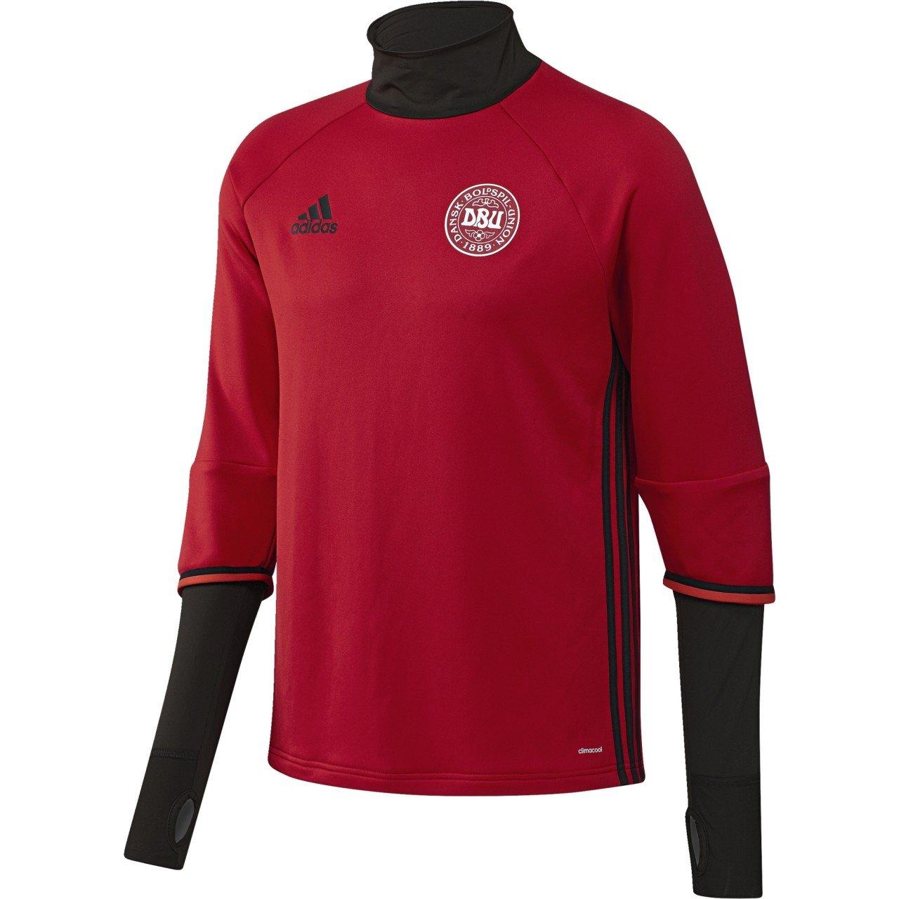 2016-2017 Denmark Adidas Training Top (Red) B017Y19BUCRed XL 44-46\