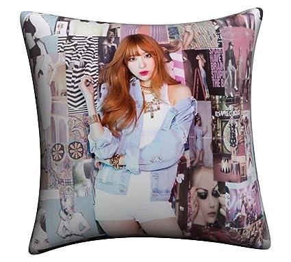 EXID Album Ah Yeah HaNi LE Solji Throw Pillow (HaNi)
