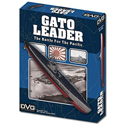 DVG: Gato Leader, the Battle for the Pacific, Solitaire Submarine Warfare Boardgame: Toys & Games