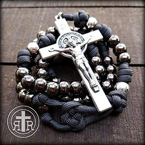 ASHES to ASHES ROSARY - Catholic Rosary - Metal Rosary Beads