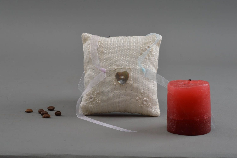 Wedding Pillow for Rings Handmade Accessories Stylish Wedding Decoration