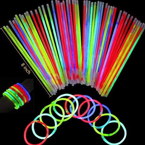 LifBetter Seerootoys 30 PCS Foam Glow Sticks Flashing Multicolor Led Foam Stick Bulk for Party Supplies Festivals Raves Birthdays