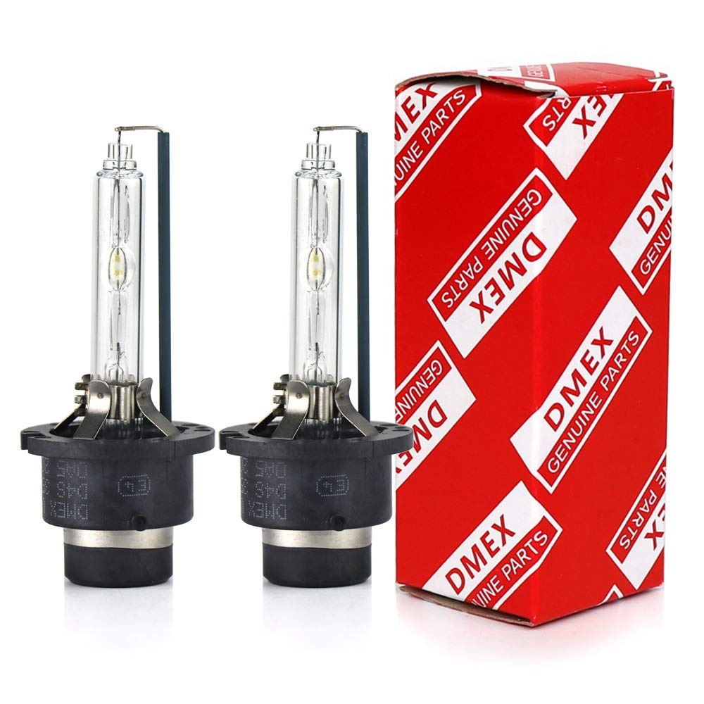 DMEX D2S - 35W - 6000K Xenon Headlight HID Bulbs Replacement - 2 Yr Warranty - Pack of 2