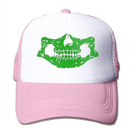 Osmykqe Sombrero de Gorras de béisbol con Logo Simple de Skeleton ...