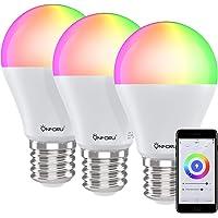 Onforu Bombilla Inteligente LED (3 Pack), Bombilla Alexa