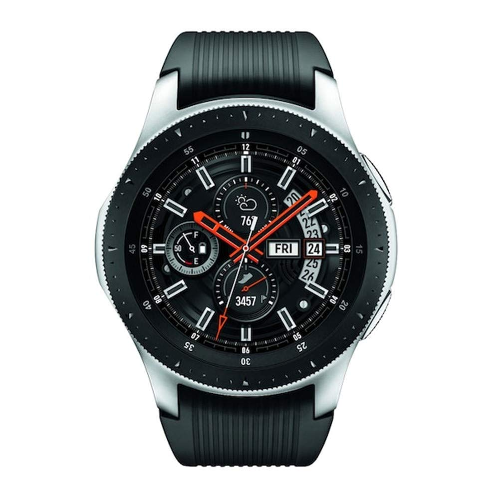 Samsung Galaxy Watch 2019 (46mm) Bluetooth, Wi-Fi, GPS Smartwatch, SM-R800 - International Version (Silver) by Samsung