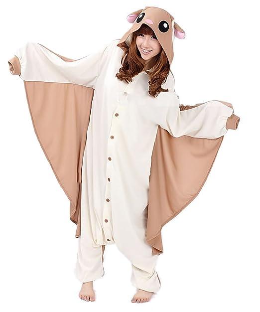 Honeystore - Mono - Pijama - con Botones - Manga Larga - para Mujer Braun and