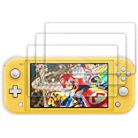 Hianjoo [3-Pack] Screen Protector Compatible with Switch Lite 2019, 9H Tempered Glass Film Compatible for Switch Lite…