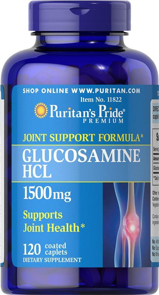Puritan's Pride Glucosamine 1500 mg-120 Caplets