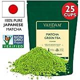 Matcha Green Tea Powder SUPERFOOD (25 Servings) 100% Pure Authentic Japanese Matcha Powder, Classic Culinary Grade Green Tea Matcha 🍵 137x Anti-OXIDANTS | Matcha Latte Mix, Smoothies & Recipes