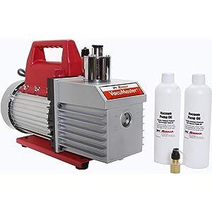 Robinair 15800 VacuMaster Economy Vacuum Pump - 2-Stage, 8 CFM, CHROME