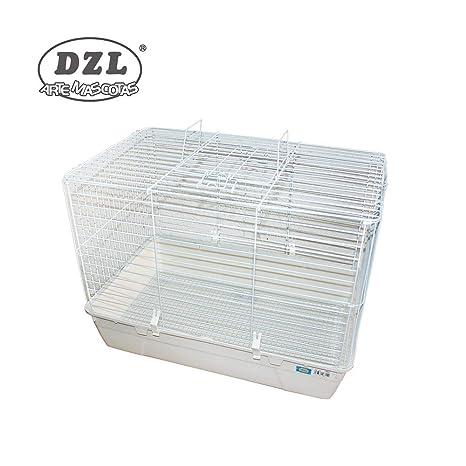 DZL® Jaula para Conejo 69X44X52CM (Blanco): Amazon.es: Productos ...