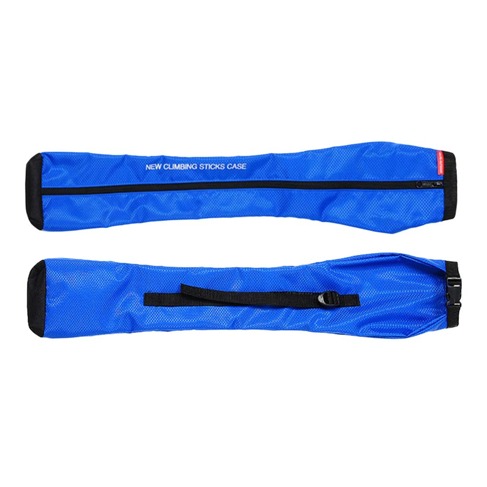 zmigrapddn Hiking Stick Carry Bag Waterproof Trekking Walking Pole Bag Outdoors 2 pieces 73x17cm