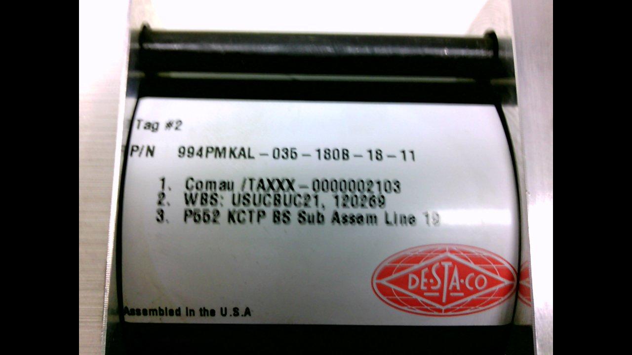 Destaco 994Pmkal-035-180B-18-11 994Pmkal-035-180B-18-11