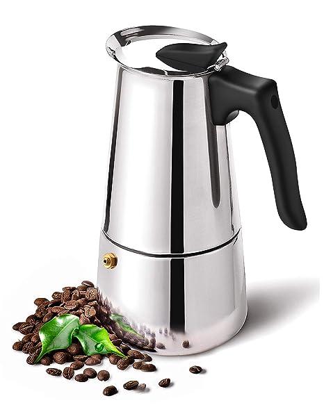 Amazon.com: DclobDop - Cafetera espresso con cafetera ...
