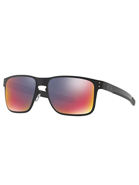Nero Sole Amazon Holbrook Metallo Oakley Da Uomo it In Occhiali 8InSqHS0