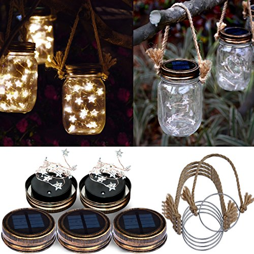 Solar Powered Garden Lights Stars
